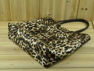 2PCs Winter New Arrival Leopard Print PU Shoulder Bag Charming C