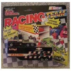Team Transporte Copenhagen Racing A J Foyt Car # 14 Toys & Games