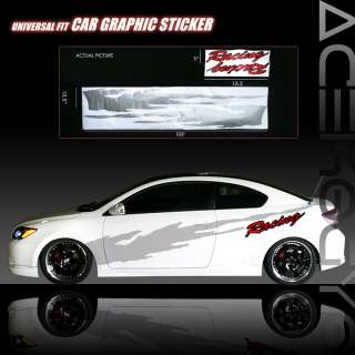 AUTO GRAPHIC VINYL STICKER DECAL MITS LANCER OZ ECLIPSE