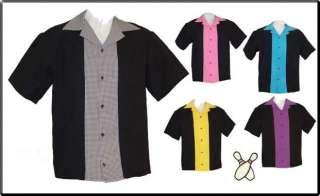 NEW Vintage Retro CLASSIC 57 Bowling Shirt USA MADE