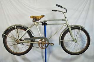 Vintage Wards Hawthorne Monark Silver King 24 bicycle bike