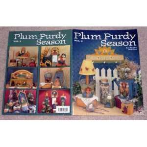 Plum Purdy Season volume 3 Great Decorative painting instruction book