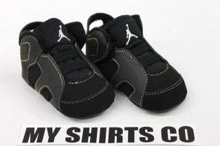 Nike Air Jordan 6 Retro Black Purple Infant Baby Shoes