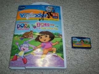 VTECH V.Reader DORA & the Three Little Pigs Game Software