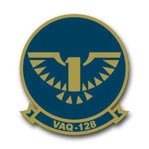 US Navy VAQ 128 Squadron Decal Sticker 5.5 Everything