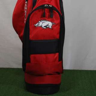 University of Arkansas Razorbacks Hogs Golf Stand Bag