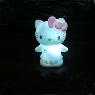 Colors Changing MiNi Hello Kitty LED Lamp Decoration Night Light