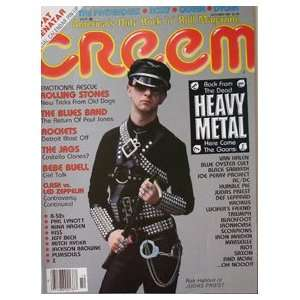 Heavy Metal Issue With Ron Halford Of Judas Priest Cover Oct. 1980