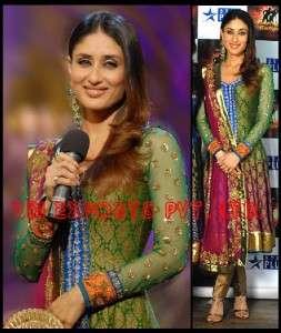 /Pakistani latest designer BOLLYWOOD Anarkali/maxi dress w Churidar