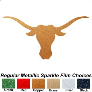 Texas Longhorns Bevo Logo 14 x 28 Auto Car Truck Window Sticker
