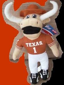 BEVO Texas Longhorn UT Mascot Toy NCAA Plush Fan Mem SM