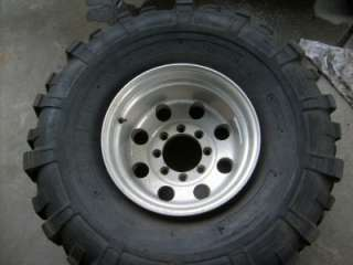 38.5 TSL Super Swamper Mud Tires 8x6.5 Alloy rims 8lug
