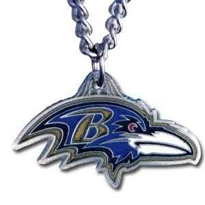 Baltimore Ravens NFL Pewter Logo Necklace Sports