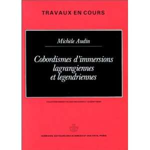 en cours) (French Edition) (9782705660567): Michele Audin: Books