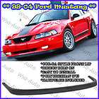 99 04 Ford Mustang CBR Style Front Bumper Lip Kit Spoiler GT SVT PU