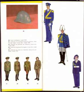 ROMANIAN ARMY UNIFORM COLLECTION 1835 1947 illustrated