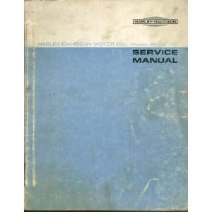 Harley Davidson Service Manual M Models 1965 to 1969: Harley