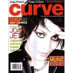 CURVE MAGAZINE (JOAN JETT) ISSUE  JULY/AUGUST 2006 ISSUE: CURVE: Books