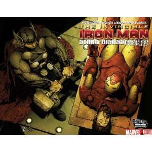 IRON MAN #20 STARK DISASSEMBLED PART 1 BY MATT FRACTION