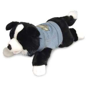 Davidson Biker Club Three Speed Plush Border Collie