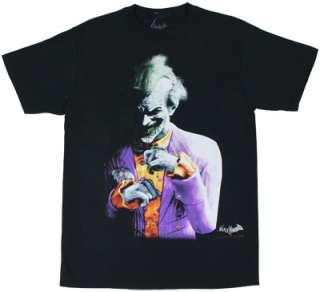 The Joker   Batman Arkham City T shirt
