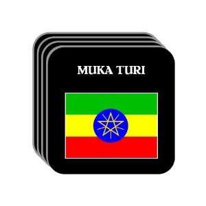 Ethiopia   MUKA TURI Set of 4 Mini Mousepad Coasters