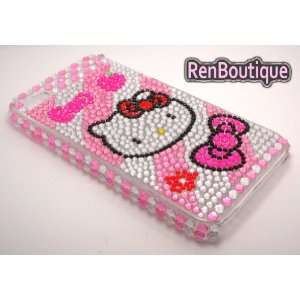 iPhone 4 4S Hello Kitty Crystal Rhinestone Bling Bling