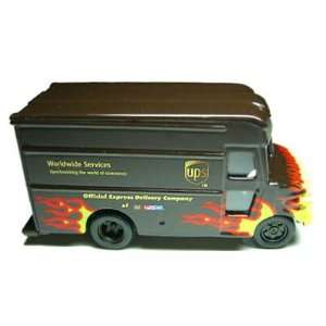 UPS Delivery Die Cast Flame Truck 155 Scale Toys & Games