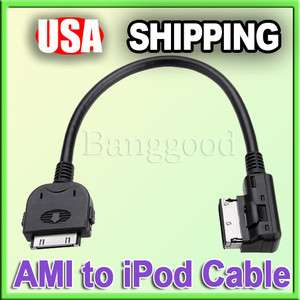 Interface AMI MMI AUX Cable Adapter for iPod iPhone A4 A5 A6 A8 Q7 TT