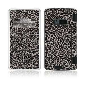 Grey Leopard Decorative Skin Cover Decal Sticker for LG enV2