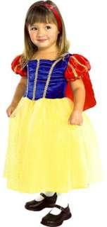 Child Small Girls Snow White Princess Costume   Snow Wh