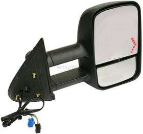 CHEVY GMC TRUCK TOWING MIRRORS PAIR POWER WITH GLASS TURN SIGNAL HEAT