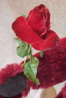 This beautiful Steiff bear is Dew Drop Rose a 16 mohair bear with a