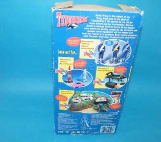 VIVID THUNDERBIRDS SCOTT TRACY TALKING 12 ACTION FIGURE BOXED GERRY