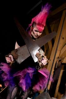 Candy Pink Purple Black Trashy tulle TuTu Skirt Anime