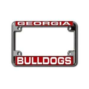 University of Georgia Bulldogs Chrome Motorcycle RV