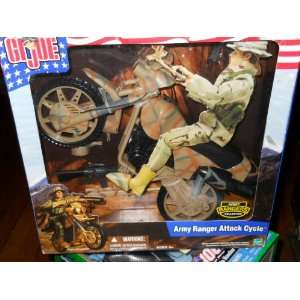 GI Joe Army Ranger Attack Cycle Toys & Games