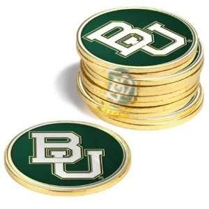 Baylor University Bears BU NCAA 12 Pack Collegiate Ball Markers