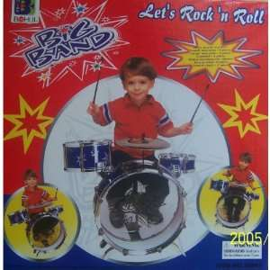 New Child Kid Toy Kids Big Band Drum Set Toy Drum Red Toys & Games