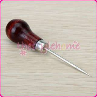 Steel Stitching Sewing Awl Needle 4 inch Leather craft