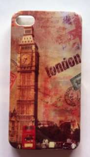 2pcs PARIS La Tour Eiffel+LONDON Big Ben Hard Back Cases for iPhone 4
