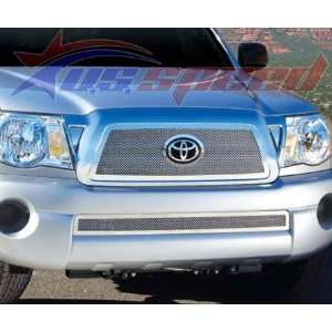 2005 2010 Toyota Tacoma Polished Wire Mesh Grille   E&G