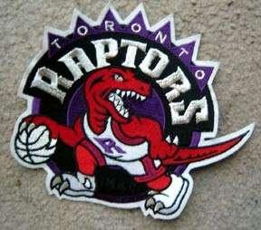 Toronto Raptors NBA Basketball Logo Patch 6
