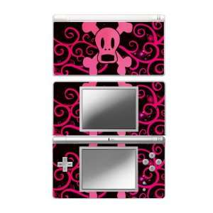 Pink Screaming Crossbones Decorative Protector Skin Decal Sticker for