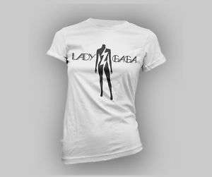Lady Gaga Logo Little Monsters T shirt