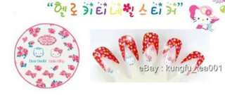 Sanrio Hello Kitty Dear Daniel Nail Art Stickers Decorate  015