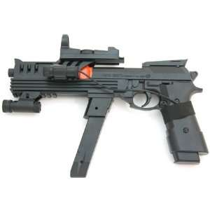 Spring Modified Beretta Pistol, FPS 110, Laser Sight