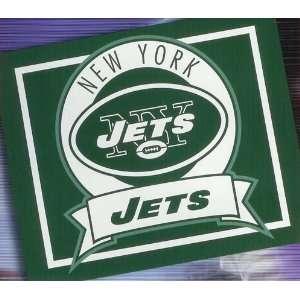 New York Jets NFL Football Woven Stadium Blanket Throw