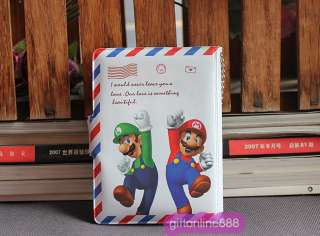 Super Mario Bros envelop bank Card team holder bag case