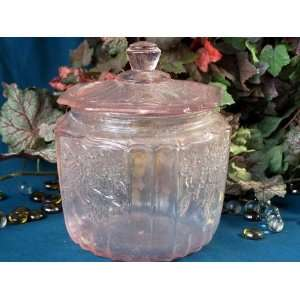 Pink Mayfair Glass Cookie Jar Everything Else